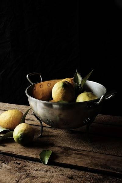 Lemon Photograph - Lemons by Mónica Pinto Photography