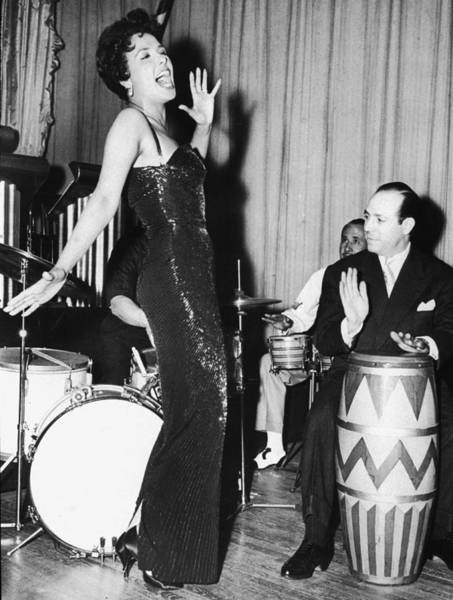 Drum Photograph - Lena Horne Sings by Hulton Archive