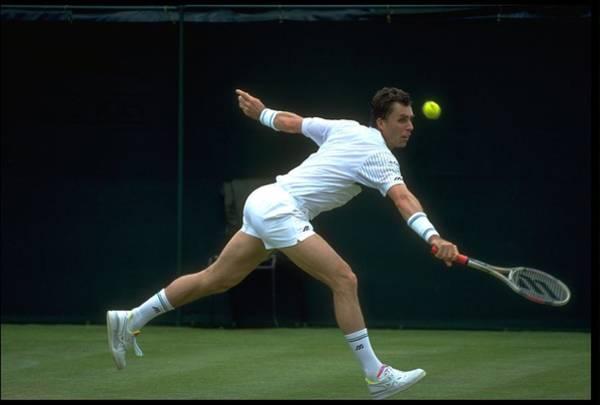 Wall Art - Photograph - Lendl Czechoslovakia Wimbledon by Russell Cheyne