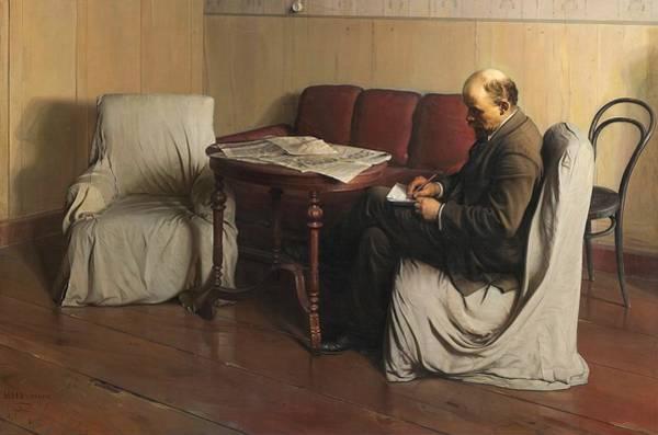 Lenin Painting - Lenin In Smolny 1917 by Isaak Brodsky