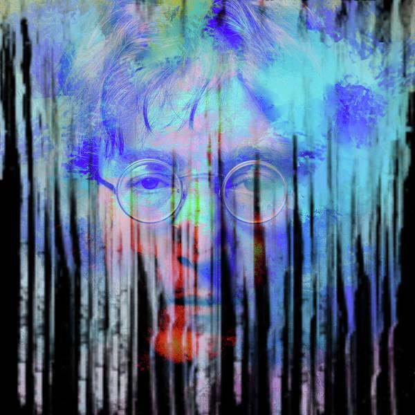 Julian Digital Art - Lennon 2 by Tim Palmer