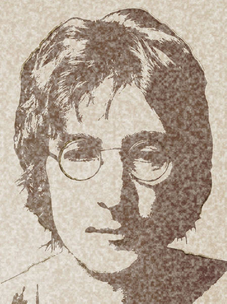 Wall Art - Digital Art - Lennon Fade by Daniel Hagerman