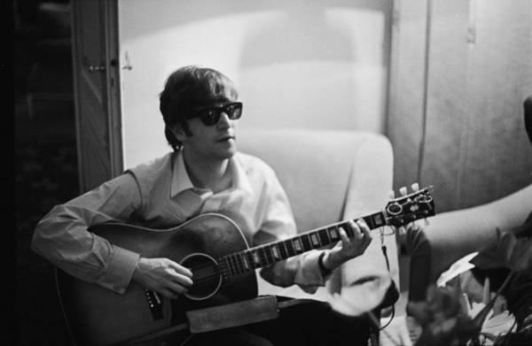 John Lennon Photograph - Lennon In Paris by Harry Benson