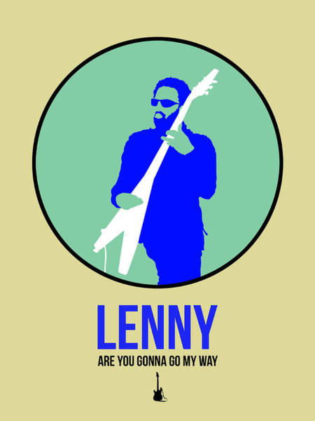 Hard Rock Wall Art - Digital Art - Lenny Kravitz II by Naxart Studio