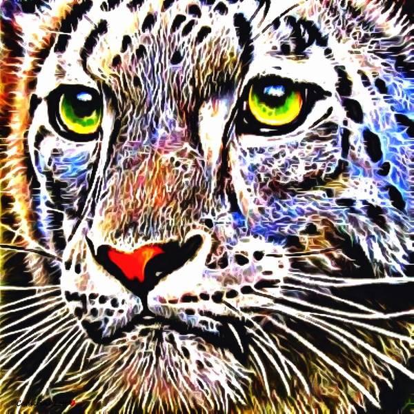 Digital Art - Leo by Catherine Lott