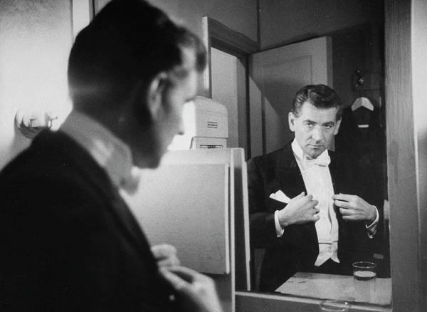 Concert Hall Photograph - Leonard Bernstein by Alfred Eisenstaedt
