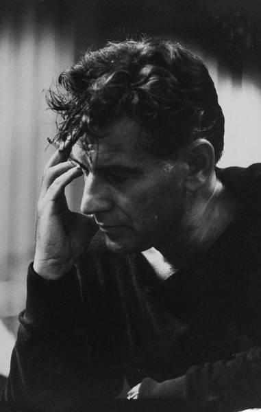 Leonard Photograph - Leonard Bernstein by Carl Mydans