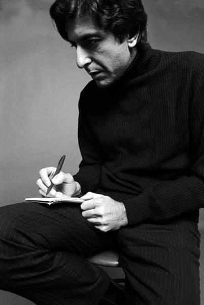 Poet Photograph - Leonard Cohen by Jack Robinson