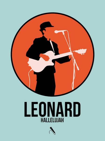 Wall Art - Digital Art - Leonard Cohen by Naxart Studio