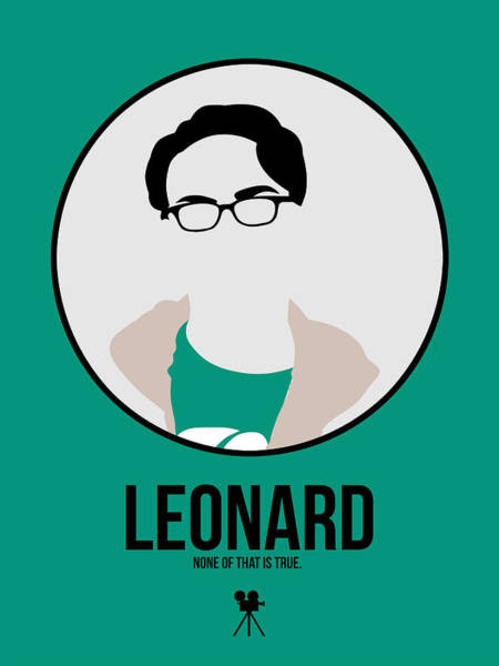 Wall Art - Digital Art - Leonard by Naxart Studio