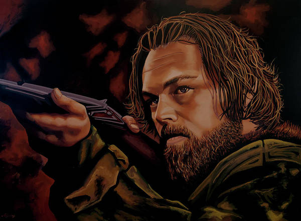 Painting - Leonardo Dicaprio Painting by Paul Meijering