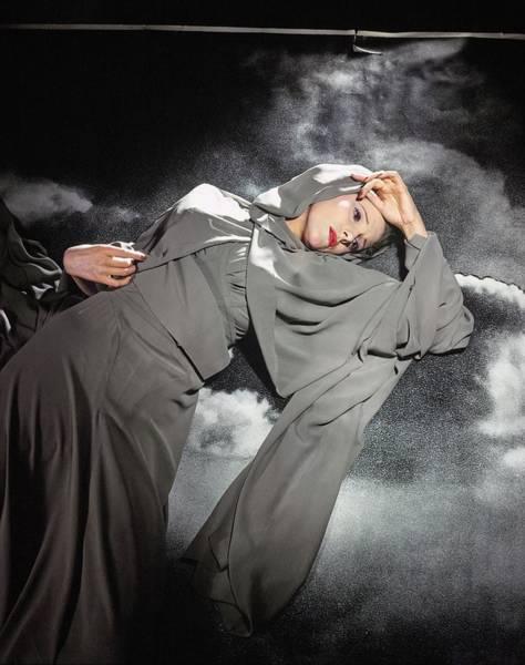 Photograph - Leonora Corbett Wearing Mainbocher by Horst P. Horst