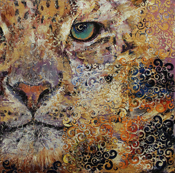 Wall Art - Painting - Leopard Dynasty by Michael Creese