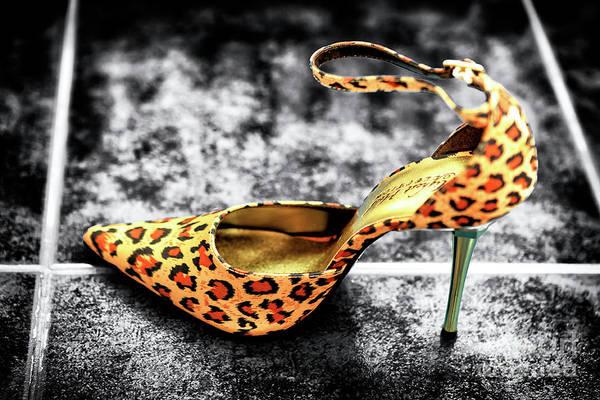 Photograph - Leopard Fusion Stiletto by John Rizzuto