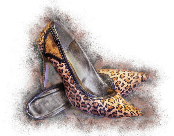 Photograph - Leopard High Heels by Patti Deters
