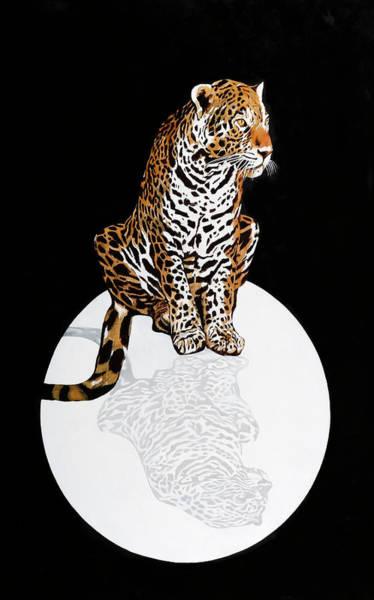Painting - Leopardo Da Vinci by Guido Borelli