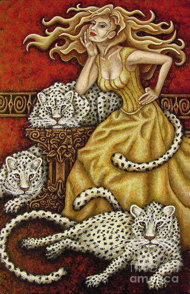 Painting - Leopard's Lair by Amy E Fraser
