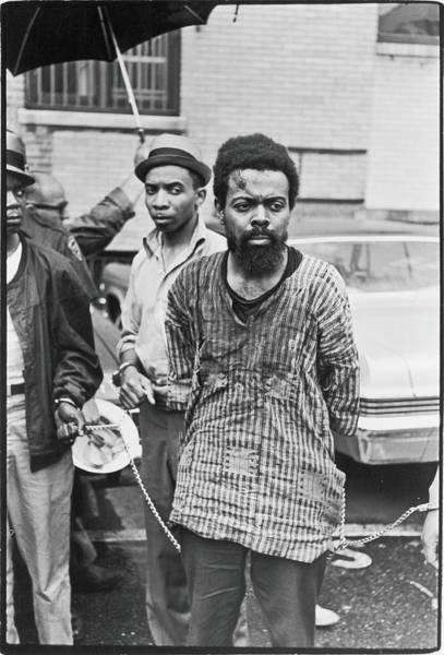 Poet Photograph - Leroi Jones Arrested At Newark Riots by Fred W. McDarrah