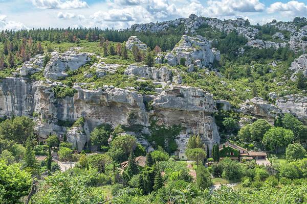 Wall Art - Photograph - Les Baux De Provence, Valley, Provence by Jim Engelbrecht