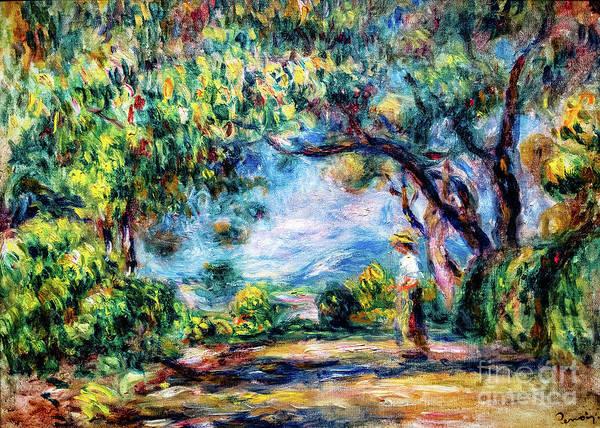 Painting - Les Collettes By Renoir by Auguste Renoir