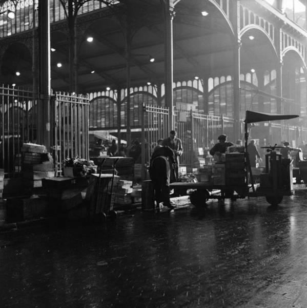 Photograph - Les Halles In Paris by Michel Desjardins