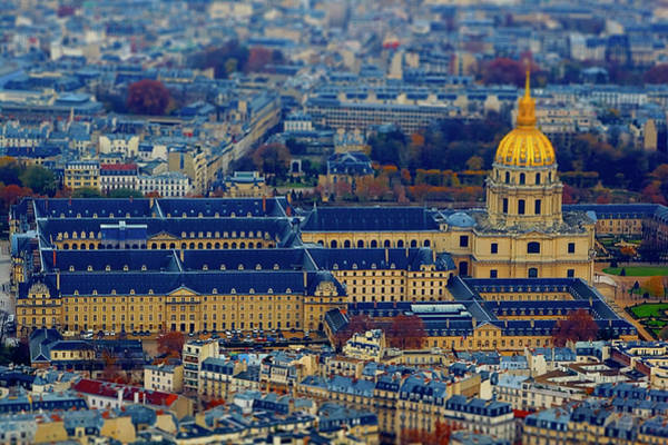 Invalides Photograph - Les Invalides In Paris by Dhwee