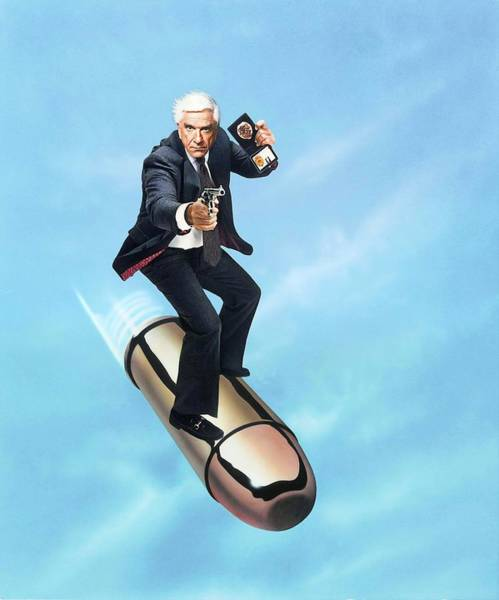 Leslie Nielsen Wall Art - Photograph - Leslie Nielsen In The Naked Gun From The Files Of Police Squad -1988-. by Album