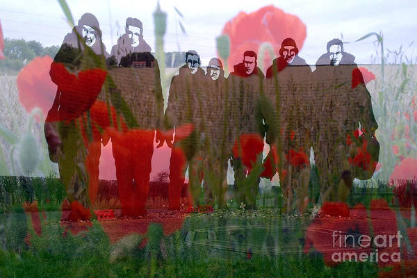 Wall Art - Photograph - Lest We Forget-158 Squadron Lissett by Merice Ewart
