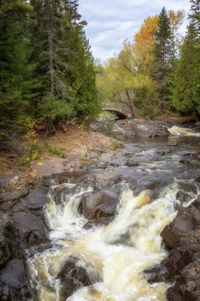 Photograph - Lester Park Stone Arch Bridge by Susan Rissi Tregoning
