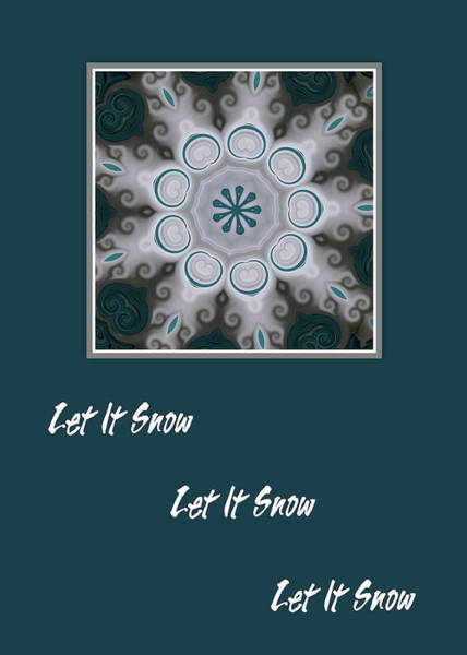 Photograph - Let It Snow by Kathy K McClellan