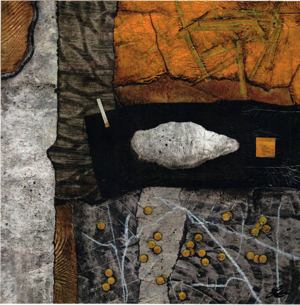 Dot Mixed Media - Let Nature Enter Your Body  by Laura  Lein-Svencner