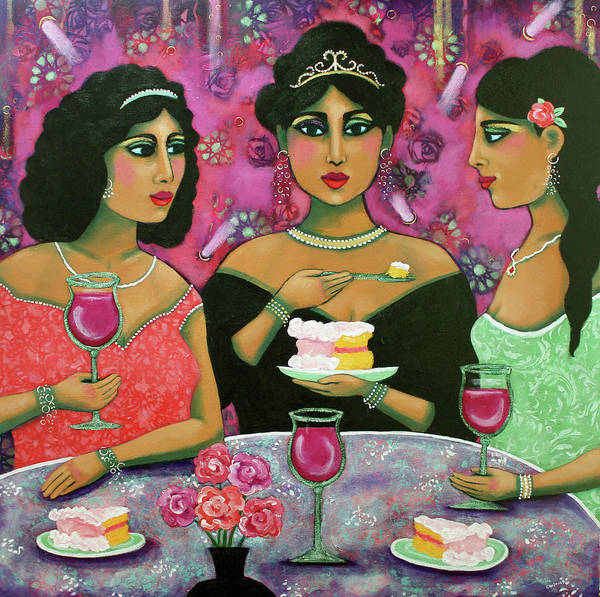 Painting - Let Them Eat Cake by Carla Golembe