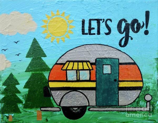Painting - Let's Go by Jacqueline Athmann