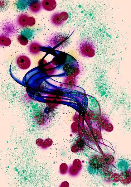 Digital Art - Letting Go by Rachel Hannah