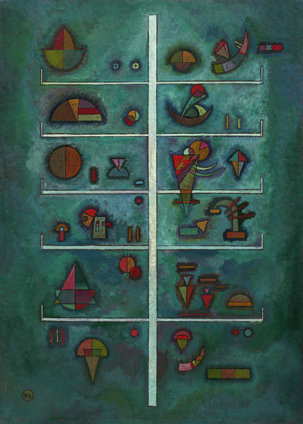 Constructivism Painting - Levels - Etagen, 1929 by Wassily Kandinsky