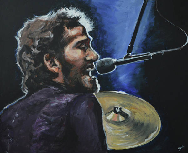 Helm Painting - Levon by Melissa O'Brien