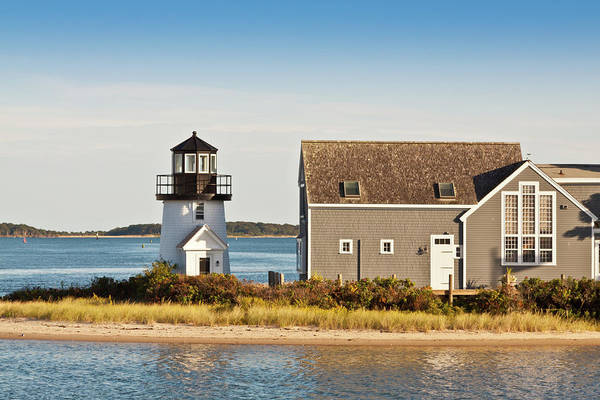 Hyannis Photograph - Lewis Bay Lighthouse, Hyannis, Cape by Olegalbinsky