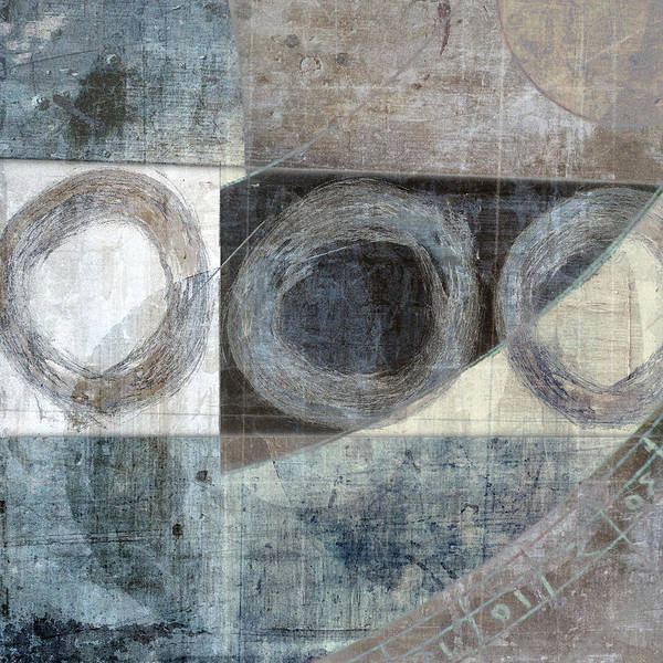 Wall Art - Mixed Media - Ley Lines by Carol Leigh