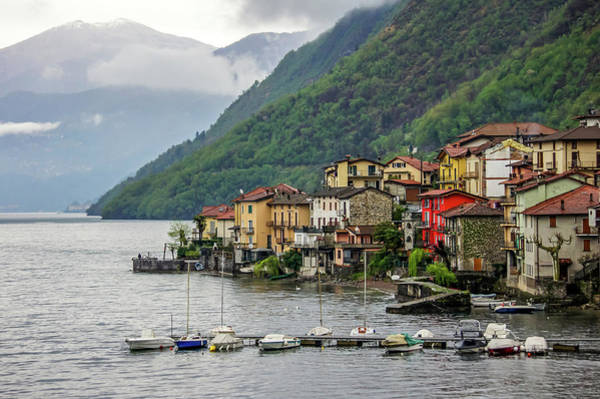 Photograph - Lezzeno, Lake Como, Italy by Dawn Richards