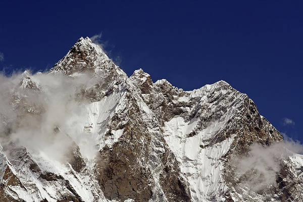 Khumbu Wall Art - Photograph - Lhotse And Lhotse Sar by Pal Teravagimov Photography