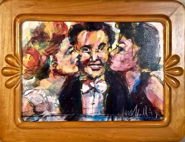 Painting - Liberace by Les Leffingwell