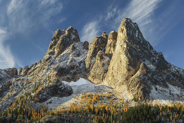 Wall Art - Photograph - Liberty Bell Mountain II by Alan Majchrowicz