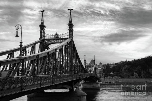 Wall Art - Photograph - Liberty Bridge In Budapest by Louise Poggianti