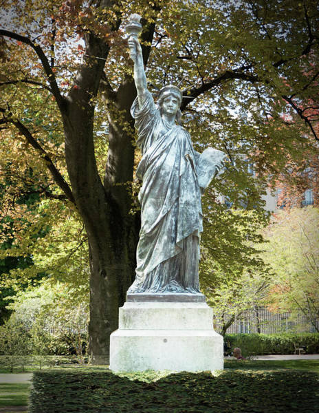 Photograph - Liberty In The Garden by Jessica Levant