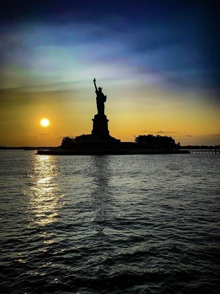 Photograph - Liberty In The Sun by Mike Dunn