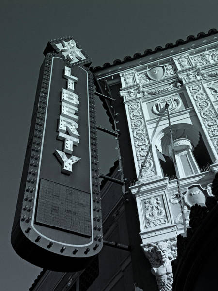 Photograph - Liberty Theatre by Micki Findlay