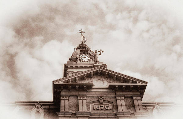 Wall Art - Photograph - Licking County Courthouse by Tom Mc Nemar