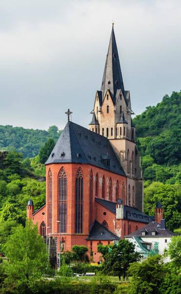 Liebfrauenkirche Oberwesel Art Print