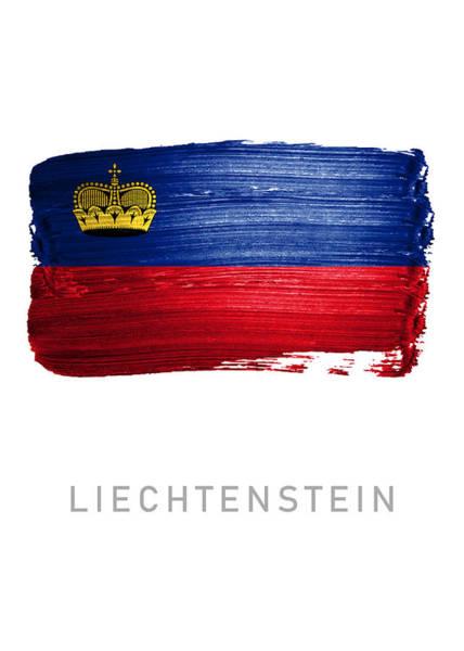 Liechtenstein Digital Art - Liechtenstein by Jo Kiwi