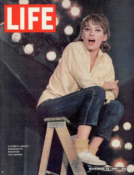 Photograph - Life 11-22-1963 Cover Of Actress by John Dominis